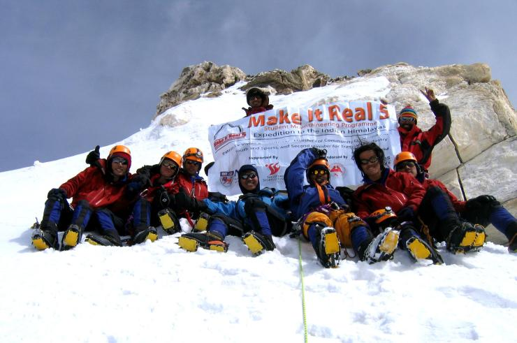 MIR 5 Hanuman Tibba Summit Photo