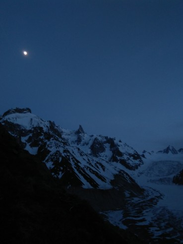 The view from our bivy