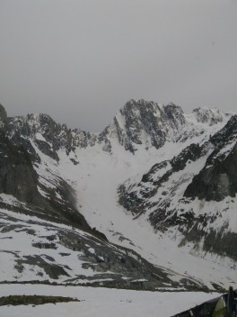 Le Grandes Jorasses, North Face