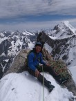 At the summit!
