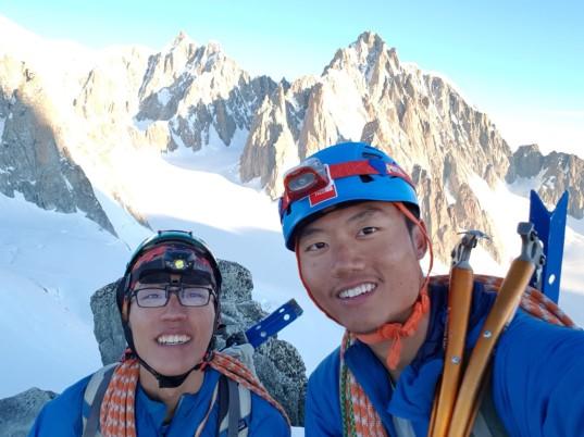 Summit of Aiguille de Toule